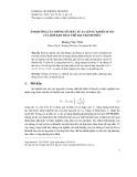 Ảnh hưởng của thông số trật tự xa lên sự khuếch tán của hợp kim thay thế hai thành phần