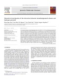 Theoretical investigation of the interaction between monohalogenated ethenes and hydrogen peroxide