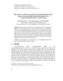 Phân hủy TNT, DNP và 2,4-D bằng oxi không khí hoạt hóa trong dung dịch bởi sắt hóa trị không (ZVI) và ethylendiamintetra axetic (EDTA)