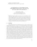 Tạo tình huống có vấn đề khi sử dụng thí nghiệm hóa học để dạy bài định luật bảo toàn khối lượng (Hóa học 8)
