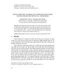 Sử dụng thuốc thử 1-(2-pyridylazo)-2-naphtol(PAN) để xác định Ni(II) bằng phương pháp trắc quang - Chemometric