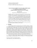 Sự xác lập quan điểm của Ph.Ăngghen về đối tượng của triết học trong tác phẩm chống Đuyrinh và biện chứng của tự nhiên