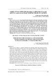 Nghiên cứu đặc điểm sinh thái học và hình thái của loài khôi tía (Ardisia silvestris Pitard) tại huyện Thạch An, Cao Bằng