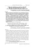 Nghiên cứu ảnh hưởng của mật độ và phân bón đến khả năng sinh trưởng và năng suất của giống đậu tương ĐT51, vụ Hè Thu tại Thái Nguyên