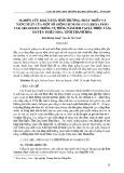 Nghiên cứu khả năng sinh trưởng, phát triển và năng suất của một số giống bí ngòi (Cucurbita Pepo Var. Melopepo) trồng vụ Đông năm 2018 tại xã Thiệu Tâm, huyện Thiệu Hóa, tỉnh Thanh Hóa