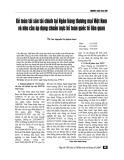 Kế toán tài sản tài chính tại ngân hàng thương mại Việt Nam và nhu cầu áp dụng chuẩn mực kế toán quốc tế liên quan