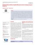 Đánh giá hiệu suất bia chuyển đổi electron-tia X sử dụng trong xử lý bức xạ