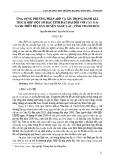 Ứng dụng phương pháp AHP và GIS trong đánh giá thích hợp một số đặc tính đất đai đối với cây gai xanh trên địa bàn huyện Ngọc Lặc, tỉnh Thanh Hóa