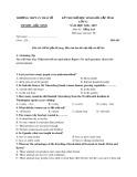 Đề thi thử học sinh giỏi cấp tỉnh môn Tiếng Anh 12 năm học 2018-2019 – Trường THPT Lý Thái Tổ (Mã đề 143)