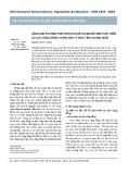 Vận dụng phương pháp DPSIR cho xây dựng mô hình phát triển du lịch cộng đồng huyện đảo Lý Sơn, tỉnh Quảng Ngãi