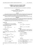 Nghiệm của bài toán truyền nhiệt trong phần mềm Mathematica