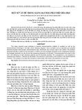 Một số vấn đề trong giảng dạy học phần điện hóa học