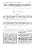 Một số vấn đề về hằng số cân bằng K của phản ứng thuận nghịch và ảnh hưởng của các yếu tố đến chuyển dịch cân bằng hóa học
