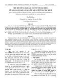 Thu hồi tổng oxit các nguyên tố đất hiếm từ quặng monazit Quảng Trị bằng phương pháp kiềm