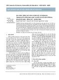 Xác định, đánh giá hàm lượng sắt và mangan trong nước giếng sinh hoạt tại một vài hộ dân trên địa bàn xã Lộc Ninh, Đồng Hới - Quảng Bình