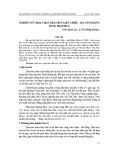 Nghiên cứu hoạt hoá than bùn Liên Chiểu – Đà Nẵng bằng dung dịch HCl