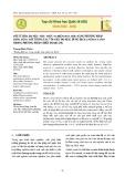 Tối ưu hóa đa mục tiêu thực nghiệm hóa học bằng phương pháp thỏa dụng mờ tương tác với việc đo màu dung dịch anthocyanin trong phương pháp chiết đo quang