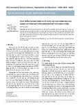 Phát triển chương trình và tổchức các hoạt động đào tạo ngành Sư phạm Ngữ văn Khmer Nam Bộ theo định hướng