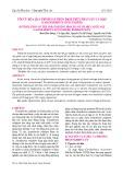 Tối ưu hóa quá trình sấy phun dịch thủy phân sụn cá mập (Carcharhinus dussumieri)