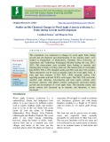 Studies on bio-chemical changes in wood apple (Limonia acidissima L.) fruits during growth and development