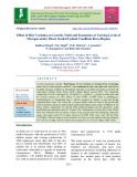 Effect of rice varieties on growth, yield and economics at varying levels of nitrogen under direct seeded upland condition Rewa region