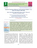 Statistical comparison of reference evapotranspiration methods: A case study from srinagar in J&K, India