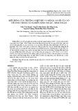 Biến động của trường nhiệt độ và mối quan hệ của nó với ENSO trong vùng biển Ninh Thuận - Bình Thuận