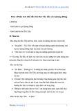 Văn mẫu lớp 12: Phân tích khổ đầu bài thơ Tây Tiến của Quang Dũng