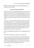 Văn mẫu lớp 11: Đóng vai Liên kể lại truyện Hai đứa trẻ