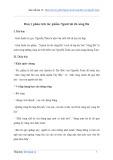 Văn mẫu lớp 12: Phân tích tác phẩm Người lái đò sông Đà của Nguyễn Tuân