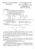 Đề thi chọn học sinh giỏi cấp tỉnh môn Hóa học 12 năm học 2013-2014 – Sở Giáo dục và Đào tạo Hải Dương (Có đáp án)