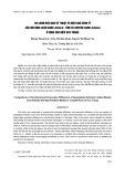 So sánh hiệu quả kỹ thuật và hiệu quả kinh tế của mô hình luân canh Artemia – tôm và chuyên canh