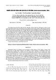 Nghiên cứu kích thích sinh sản của cá trê đồng (Clarias fuscus lacepède, 1803)