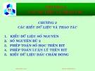 Bài giảng Hệ thống máy tính và ngôn ngữ C: Chương 1 - PGS.TS. Đặng Thành Tín
