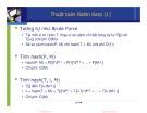 Bài giảng Cấu trúc dữ liệu và giải thuật: Các thuật toán tìm kiếm chuỗi (tt) - Nguyễn Tri Tuấn