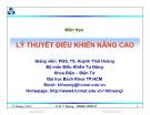 Bài giảng Cơ sở tự động nâng cao: Chương 2 - PGS. TS. Huỳnh Thái Hoàng