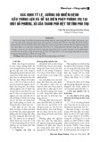 Xác định tỷ lệ, cường độ nhiễm bệnh cầu trùng lợn và đề ra biện pháp phòng trị tại một số phường, xã của thành phố Việt Trì tỉnh Phú Thọ