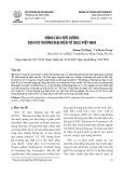Nâng cao chất lượng dịch vụ thương mại điện tử (B2C) Việt Nam