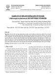 Nghiên cứu cải tiến môi trường nuôi cấy tảo xoắn (Athrospira platensis) quy mô phòng thí nghiệm
