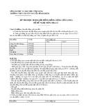 Đề thi chọn học sinh giỏi môn Địa lí lớp 12 năm học 2012-2013 – Trường THPT Chuyên Nguyễn Bỉnh Khiêm