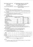 Đề thi chọn học sinh giỏi cấp tỉnh môn Địa lý lớp 12 năm học 2012-2013 – Sở Giáo dục và Đào tạo Kiên Giang (Đề chính thức)