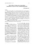 Nhân giống in vitro loài lan Bạch hạc Dendrobium wattii từ nuôi cấy đỉnh sinh trưởng