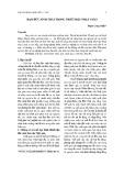 Đạo đức sinh thái trong triết học Phật giáo