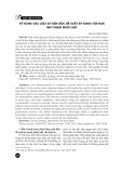 Kỹ năng của luật sư viện dẫn, đề xuất áp dụng văn bản quy phạm pháp luật