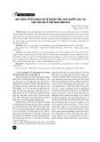 Quy định về áp dụng án lệ trong việc giải quyết các vụ, việc dân sự ở Việt Nam hiện nay