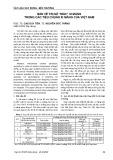 """Bàn về trị số """"mác"""" xi măng trong các tiêu chuẩn xi măng của Việt Nam"""