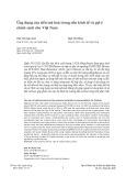 Ứng dụng của tiền mã hóa trong nền kinh tế và gợi ý chính sách cho Việt Nam
