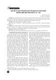 Vấn đề lý luận về pháp luật tố tụng của nhà nước phong kiến Việt Nam thế kỷ XV-XIX