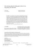 Các phương pháp đo lường giá trị chịu rủi ro: Ứng dụng cho Việt Nam