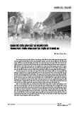 Quan hệ giữa bản sắc và nghèo đói trong phát triển vùng dân tộc thiểu số ở Nghệ An